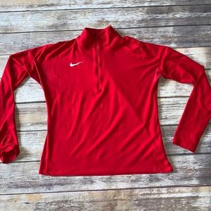 Women's Nike Dri-Fit Quarter Zip Pullover